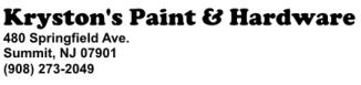 Kryston's Paint & Hardware